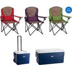 2-Coleman-Oversized-Quad-Chairs-Coleman-Xtreme-120-qt-Chest-Cooler-or-756-qt-Wheeled-Cooler