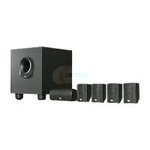 JBL-Five-Complete-6-Piece-Home-Cinema-Speaker-Package-w-100W-Powered-Subwoofer