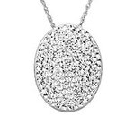 FatWallet-Exclusive-52-off-Swarovski-Oval-Pendant-in-Sterling-Silver-Today-Only