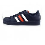 Men-s-Adidas-Superstar-2-Shoes-White-Black-Turquoise-or-New-Navy-Running-White-35-Free-Shipping