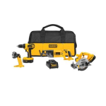 4-Tool-DeWALT-18-Volt-Ni-Cad-Cordless-Combo-Kit-DC4CKITA-199-Free-Shipping