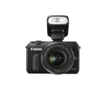 Canon-EOS-M-18MP-Compact-Digital-Camera-w-EF-M-18-55mm-IS-f-3-5-5-6-STM-Lens-90EX-Speedlite-Flash-350-Free-Shipping