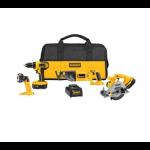 4-Tool-DeWALT-18-Volt-Ni-Cad-Cordless-Combo-Kit-199-Free-Shipping