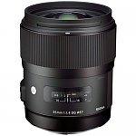 35mm-Sigma-f-1-4-DG-HSM-A1-ART-Lens-Canon-or-Nikon-779-Free-shipping