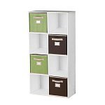 Martha-Stewart-Living-8-Cube-Organizer-with-Fabric-Bins-29-Free-Shipping