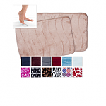 2-Pack-17-x24-North-Point-Memory-Foam-Bath-Rugs-solid-colors-or-prints-12-Free-Shipping