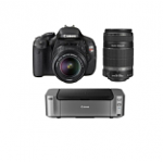 Canon-EOS-Digital-Rebel-T3i-18MP-SLR-Camera-w-18-55mm-Lens-55-250mm-IS-Lens-PIXMA-Pro-100-Printer-Photo-Paper-548-after-400-Rebate-Free-Shipping