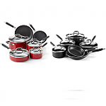 10-Piece-Guy-Fieri-Nonstick-Cookwear-Set-Black-or-Red-17-Free-Shipping